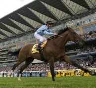 Harbinger smashed his rivals in the King George and in doing so became the highest rated horse in the world in 2010